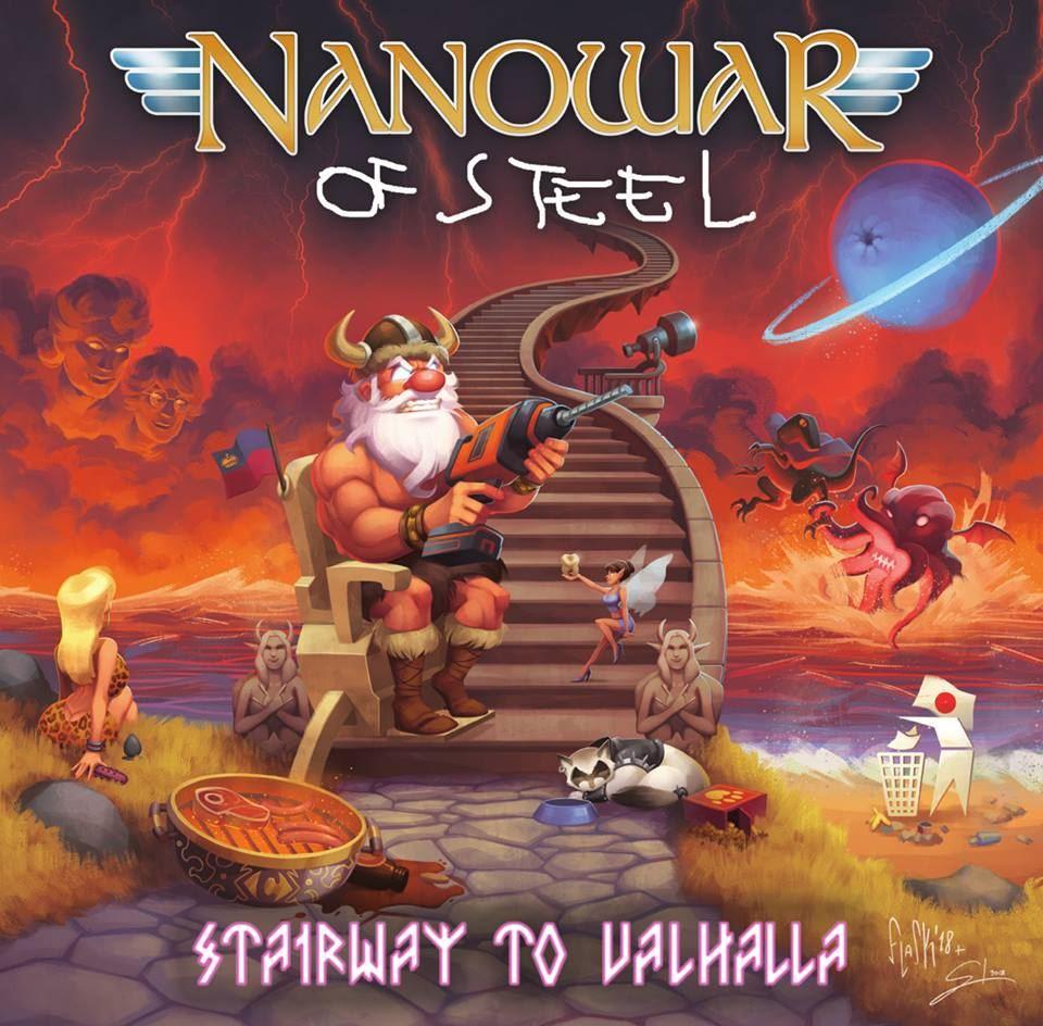 metal.it » Notizie » NANOWAR OF STEEL, il lyric video di